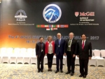 Prof. IBR Supancana–Gurubesar Universitas Atmajaya Bidang Hukum Antariksa Internasional – menjadi pembicara di acara The 4th APSCO Space Law and Policy Forum di Harbin, China 10-11 Juli.